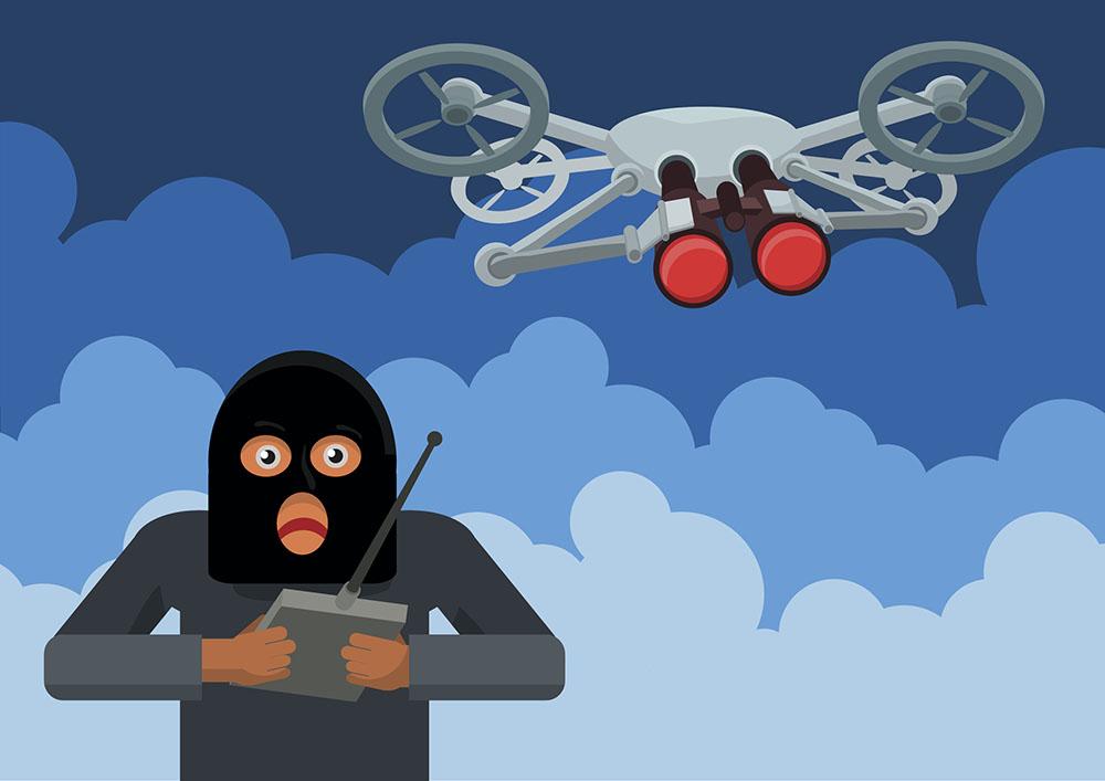 illegal surveillance quadrocopters