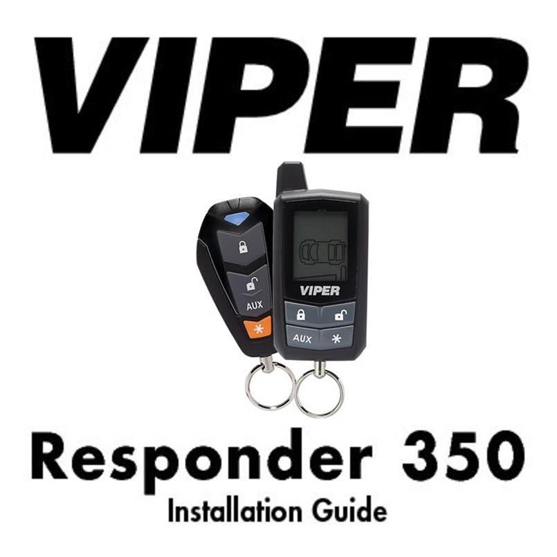 Viper alarm 2-way remote 350 installation manual
